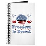 Freedom Is Sweet Americana Journal