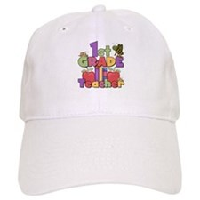 1st Grade Teacher Baseball Cap