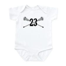 Lacrosse Number 23 Infant Bodysuit