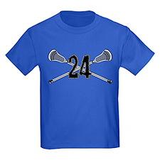 Lacrosse Number 24 T