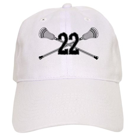 Lacrosse Number 22 Cap