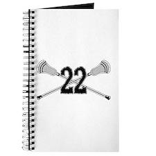 Lacrosse Number 22 Journal