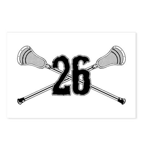 Lacrosse Number 26 Postcards (Package of 8)