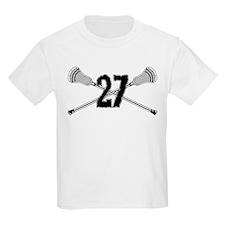 Lacrosse Number 27 T-Shirt