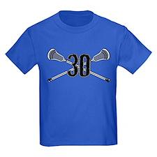 Lacrosse Number 30 T