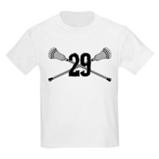 Lacrosse Number 29 T-Shirt