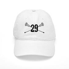 Lacrosse Number 29 Baseball Cap