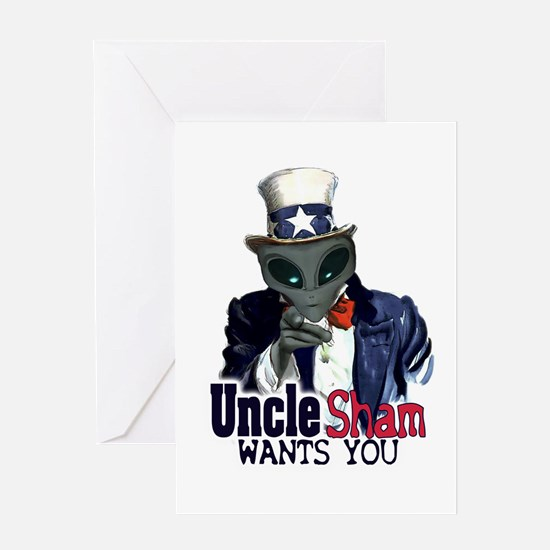 Uncle Sham Wants You! Greeting Card