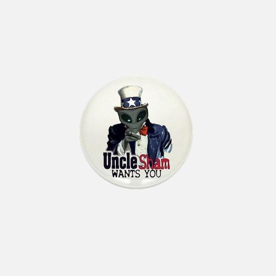 Uncle Sham Wants You! Mini Button