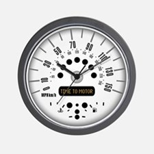 Time to motor Wall Clock