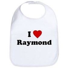 I Love [Heart] Raymond Bib