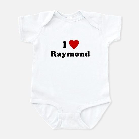 I Love [Heart] Raymond Infant Creeper