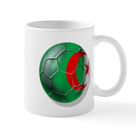 Algerian flag soccer ball Mug