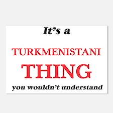 It's a Turkmenistani Postcards (Package of 8)