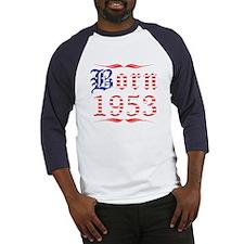 Born All American 1953 Baseball Jersey