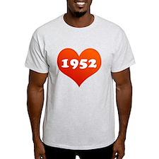 Heart of 1952 T-Shirt