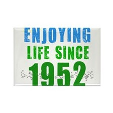 Enjoying Life Since 1952 Rectangle Magnet