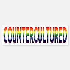 "New ""CounterCultured"" Design! Bumper Bumper Bumper Sticker"