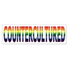 "New ""CounterCultured"" Design! Bumper Bumper Sticker"
