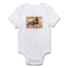 Galloping Horses Art Infant Bodysuit