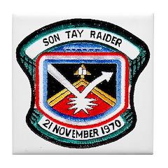 Son Tay Raider Tile Coaster