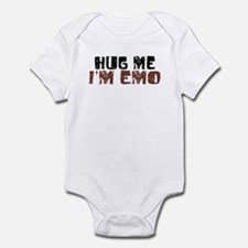 Hug Me I'm Emo Infant Bodysuit