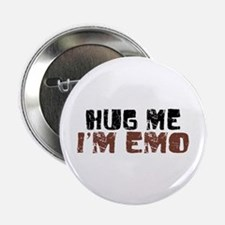 "Hug Me I'm Emo 2.25"" Button (100 pack)"