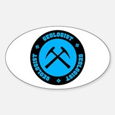 Geologist Oval Decal