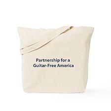 Partnership for a Guitar-Free Tote Bag