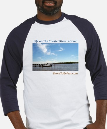 On The Chester River Baseball Jersey