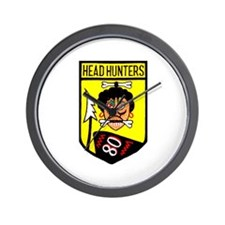 80th Fighter Squadron Wall Clock