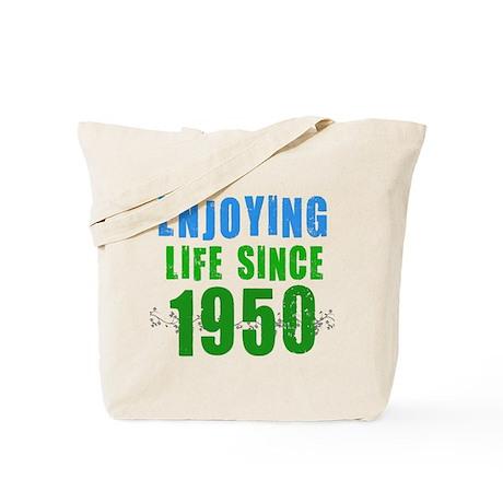 Enjoying Life Since 1950 Tote Bag