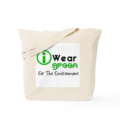 I Wear Green Tote Bag