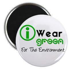 """I Wear Green 2.25"""" Magnet (10 pack)"""