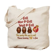Party Girl 97th Tote Bag