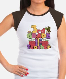 3rd Grade Teacher Women's Cap Sleeve T-Shirt