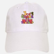 3rd Grade Teacher Baseball Baseball Cap