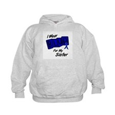 I Wear Blue For My Sister 8 Hoodie