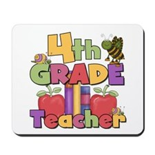 4th Grade Teacher Mousepad