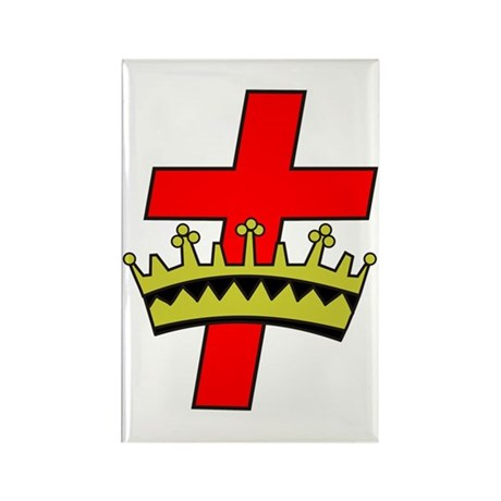 York Rite Rectangle Magnet