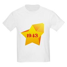 Star of Heart 1943 T-Shirt