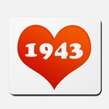 Love 1943 Mousepad