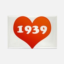 Love 1939 Rectangle Magnet