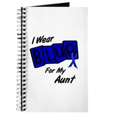 I Wear Blue Aunt Colon Cancer Journal