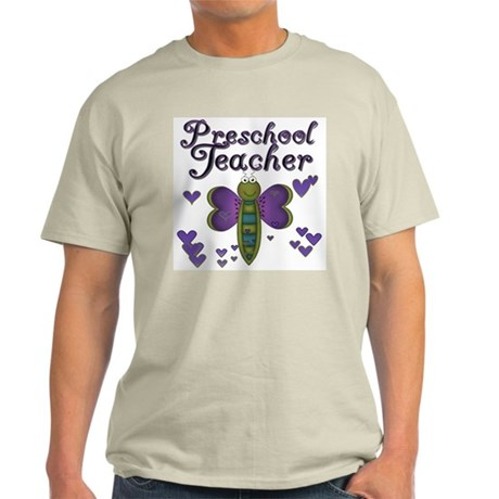 Butterfly Preschool Teacher Light T-Shirt