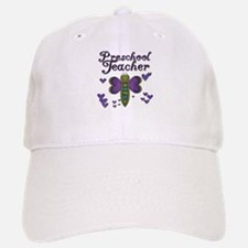 Butterfly Preschool Teacher Baseball Baseball Cap