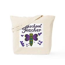 Butterfly Preschool Teacher Tote Bag