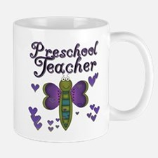 Butterfly Preschool Teacher Mug