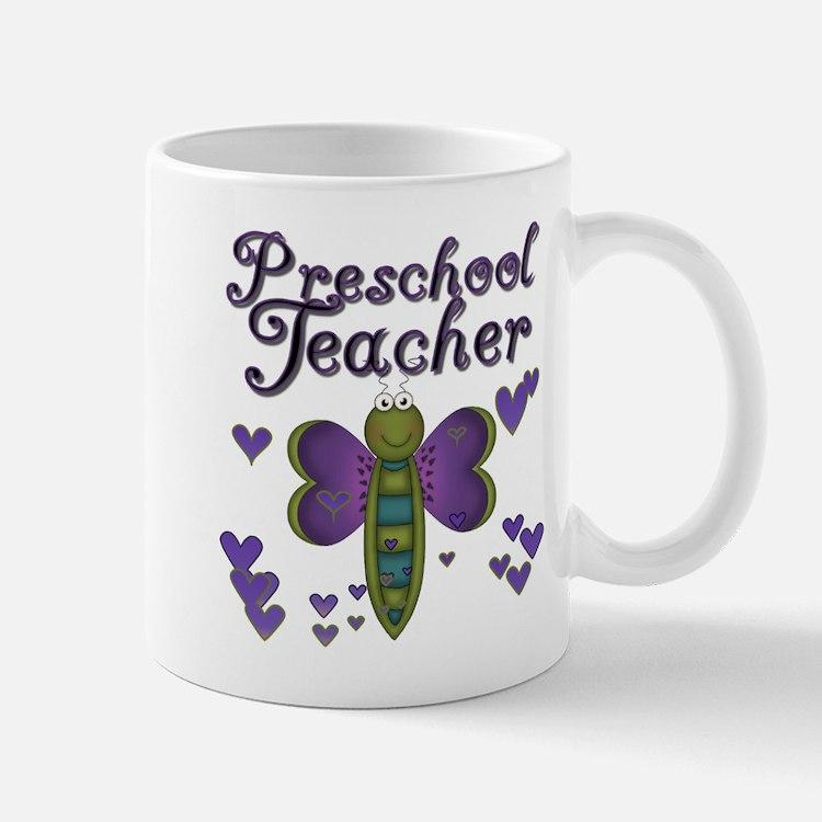 Butterfly Preschool Teacher Mug