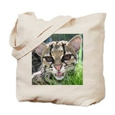 Margay Cat House Tote Bag